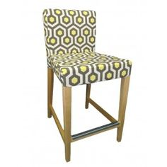 Henriksdal Dining Chair slipcover IKEA Henriksdal bar stool cover henriksdal barstool cover From Knesting  sc 1 st  Pinterest & Chevron Custom Slipcover for IKEA Henriksdal Bar Stool from ... islam-shia.org