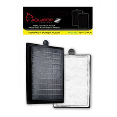 Aquatop Replacement Filter Pads with Activated Carbon for the PFE-4 Power Filter. Tough poly-fiber materials. Filled with Aquatop's Activated Carbon Easy to install and remove.