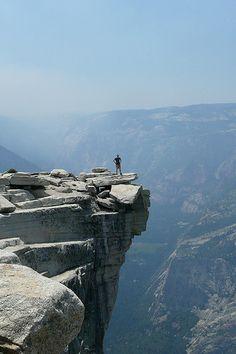 half dome summit yosemite national park All I can say is woooooooooow! The Grand Canyon was just as beautiful <3