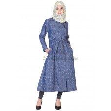 Denim Coat for women- Front Open