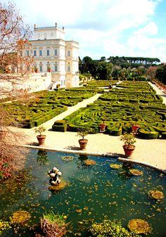 Villa Doria Pamphili.