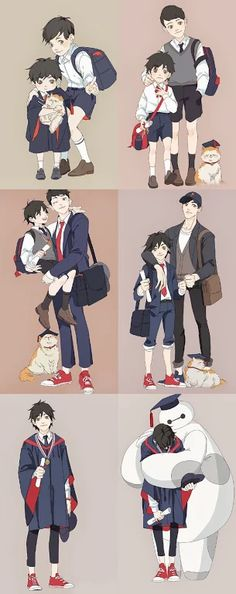 Over the Years Big Hero 6
