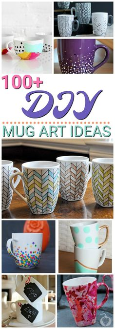 Dropped my favorite mug! So, I'm creating a new mug based on these 100 Awesome DIY Mug Art Creations. Dropped my favorite mug! So, I'm creating a new mug based on these 100 Awesome DIY Mug Art Creations. Pot Mason Diy, Mason Jar Crafts, Memphis Design, Cool Diy, Silhouette Designer Edition, Coffee Mug Crafts, Coffee Mugs, Coffee Maker, Diy Becher