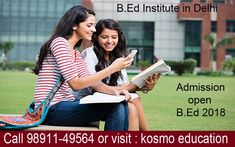 With a specific end goal to keep away from the improper colleges, you can visit the best B. Ed institute in Delhi.