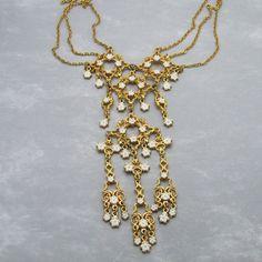 Vendome Necklace 1960s Vintage Jewelry Daisy by PurpleDaisyJewelry, $88.00