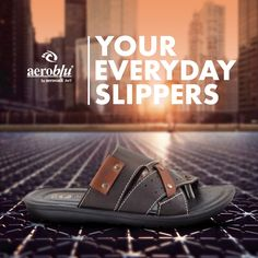 Old ways won't open new doors. Start something new with our latest collection of men's slipper. #Aeroblu