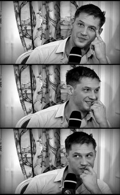 """I didn't get to work with her, though. She was lying on the floor dead, wasn't she, dead by the time we got to work together [someone tells him he's spoiled the movie] Oh god yes, sorry … and umm .. and I .. anyways, moving on ..""    - Tom Hardy on Marion Cotillard during the Allocine Inception interview"