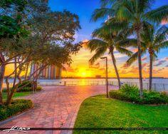 Phil Foster Park Sunset Singer Island