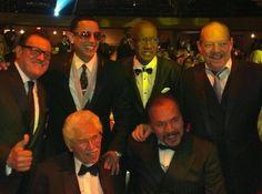 Ismael Miranda, Daddy Yankee, Roberto Roena, Larry Harlow, Johnny Pacheco y Bobby Valentin....homenaje a Johnny Pacheco Marzo 2014