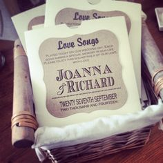 Lovely idea! Perfect as a #favour for your #wedding guests