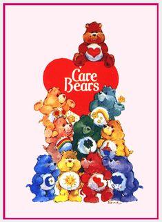 the REAL Care Bears! I wanted a Care Bear bedroom. I love Care Bears. 90s Childhood, My Childhood Memories, Sweet Memories, Childhood Characters, Care Bears, Disney Viejo, Fraggle Rock, Cartoon Photo, Bear Photos
