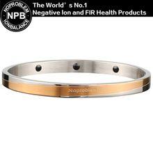 Noproblem P082 salud de iones negativos moda casual turmalina poder magneic amor mujeres pulseras del encanto pulseras(Hong Kong)
