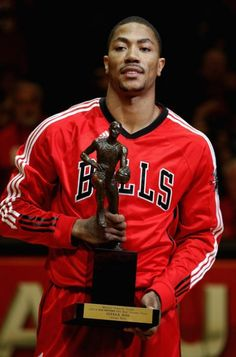 Derrick Rose. The reigning MVP... and my favorite NBA player.