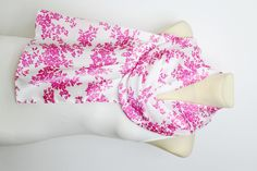 SALE White & Pink Floral Scarf - Fashion Scarf - Fabric Scarf - Women Shawl - Unique Scarf - Printed Scarf - Original Scarf - Boho Scarf by LocoTrends on Etsy https://www.etsy.com/listing/193359141/sale-white-pink-floral-scarf-fashion