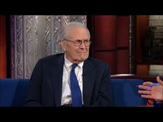 Stephen Colbert makes Donald Rumsfeld squirm until he nearly admits Iraq war was a mistake