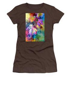 Women's T-Shirt (Junior Cut) - Abstract Flower 0800