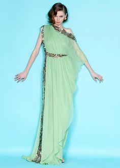... impresionante vestido para una noche de verano -- by Marchesa http://www.marchesa.com/index.php