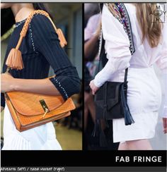 BEST HANDBAG STYLES FOR SPRING 2016:  Handbags are the worthy investment: You wear them everyday, they house all your important paraphernalia and the good ones you'll have forever.  http://myramagazine.com/2015/10/31/best-handbag-styles-for-spring-2016/  #fashion #handbags #trends #accessories #2016  Fab-Fringe
