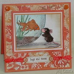 house mouse - fish