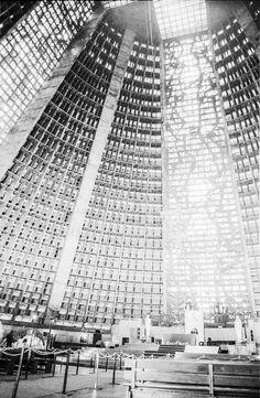 The futuristic cathedral in Rio de Janeiro city centre. ©Klara Vaculikova