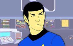 Star Trek: The Animated Series - Spock Series Movies, Tv Series, Star Trek Animated Series, United Federation Of Planets, Star Trek Tv, Science Fiction Series, Star Trek Original, Starship Enterprise, 90s Nostalgia