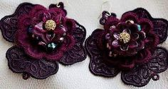 Check out this item in my Etsy shop https://www.etsy.com/listing/253241419/thread-earrings