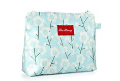 Lou Harvey Bag, Cherry Blossom Sage $19.00-$25.00 Cherry Blossom, Cosmetic Bag, Sage, Cosmetics, Embroidery, Purses, My Love, Prints, Fun