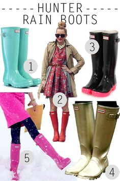 I really want a pair of Hunter Boots