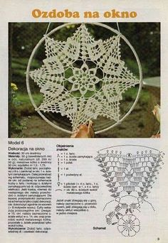 Risultati immagini per diagramme filet crochet Motif Mandala Crochet, Crochet Tree, Crochet Doily Patterns, Crochet Designs, Crochet Doilies, Crochet Curtain Pattern, Filet Crochet, Crochet Chart, Thread Crochet