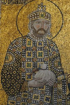 Constantine IX Monomachus, Byzantine Emperor, reigned 1042-1055, Hagia Sophia, Istanbul