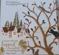 Exquisite Branch.   by pam simpson by the Poppystamps Design Team