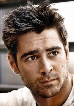 """Colin Farrell   - I haven't really been a fan until I watched """"dead man down"""". And now I am."""