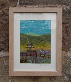 Candlewick Cottage Felt Landscape Picture  $102.77