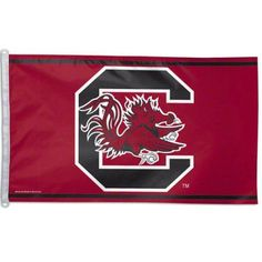 University of South Carolina Gamecocks Grommet Flag Ncaa Licensed 3' x 5', Red