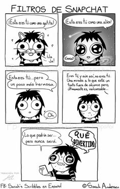 Anybody who's familiar with the comics of Sarah Andersen will know how perfectly they summarize the daily struggles of modern life, especially when it comes to Sarah Anderson Comics, Sara Anderson, Cute Comics, Funny Comics, Funny Quotes, Funny Memes, Hilarious, Saras Scribbles, Sarah See Andersen