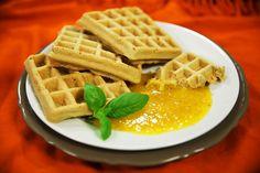 Diétás gofri   Klikk a képre a receptért! Waffles, Breakfast, Recipes, Food, Morning Coffee, Essen, Waffle, Meals, Eten
