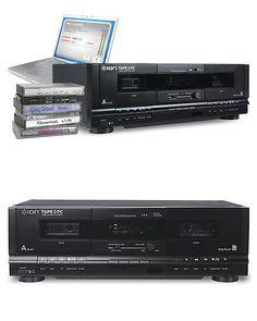 Cassette Tape Decks: Ion Cassette Taoe2pc Usb Tape Deck Pc Archiver 2 Mp3 Cassette Conversion System -> BUY IT NOW ONLY: $199 on eBay!