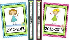 Classroom Freebies Too: Binder Covers!