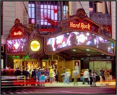 NYC -  Hard Rock Cafe International (Times Square)