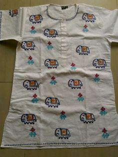 Interesting twist to Kutch work embroidery # Kutch embroidery