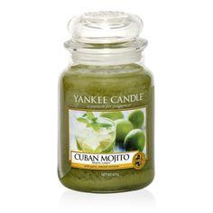 Cuban Mojito : Large Jar Candle : Yankee Candle