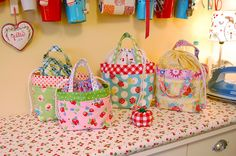 Sew Cherry + Happy Mochi Yum Yum lunch bagfest!   Flickr - Photo Sharing!