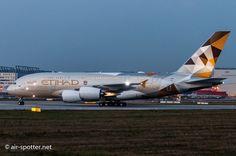 Night Flight - Etihad Airbus A380. www.etihad.com