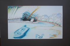70 x 41,5 cm, Farbstift auf Zeichenkarton Night, Artwork, Carton Box, Art Work, Work Of Art, Auguste Rodin Artwork