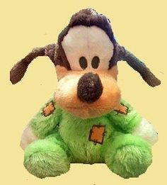 "Disney Mickey Mouse Club House Baby Goofy 9"" Long Pile Plush Doll Toy Rattle Inside by disney. $26.25. This is a Goofy plush doll with a rattle inside.  About 9 inches."