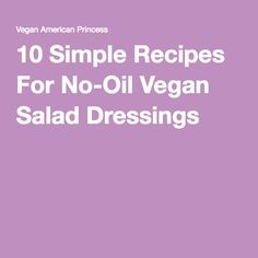 10 Simple Recipes Fo