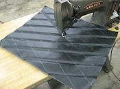 DIY Diamond Pleats for seats and car interior