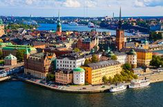 Stockholm, Sweden Stockholm is a popular tourism spot because of the culture, the scenery and for the younger crowd, the nightlife. Stockholm Tourism: 242 Things to Do in Stockholm, Sweden Places To Travel, Travel Destinations, Places To Visit, Europe Places, Travel Tours, Holiday Destinations, Cool Countries, Countries Of The World, Helsinki