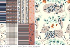 Kids Collections - PIM-PIMLADA STUDIO / Surface pattern design & illustration