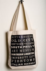 A little Philly love on a bag